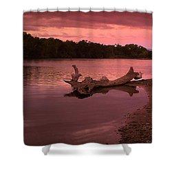 Good Morning Sacramento River Shower Curtain