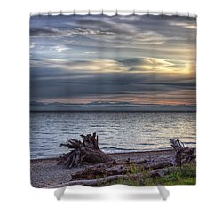 San Pareil Sunrise Shower Curtain