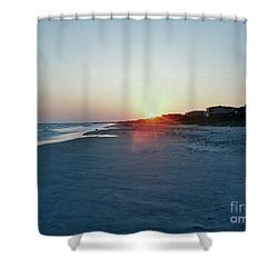 Shower Curtain featuring the photograph Good Night Day by Roberta Byram