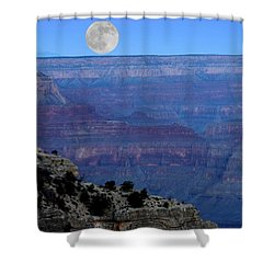 Good Night Moon Shower Curtain by Patrick Witz