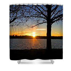 Good Night Potomac River Shower Curtain