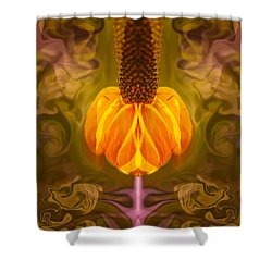 Good Vibrations Shower Curtain by Omaste Witkowski