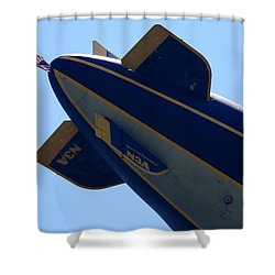 Good Year Blimp N3a Shower Curtain