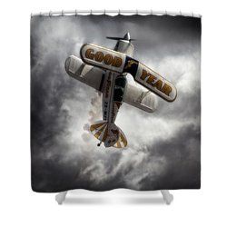 Shower Curtain featuring the photograph Good Year Cloud by Paul Job