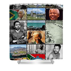 Goodbye Madiba Shower Curtain