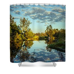 Goodbye Sunny Day Shower Curtain