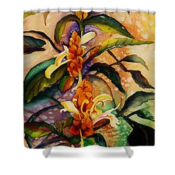 Goodbye To Summer Shower Curtain by Lil Taylor