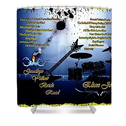 Goodbye Yellow Brick Road Shower Curtain by Michael Damiani