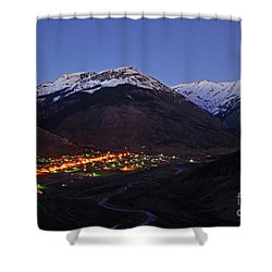 Goodnight Silverton Shower Curtain