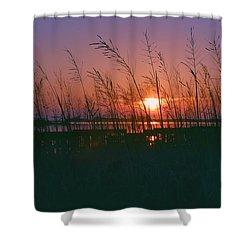 Goodnight Sun Shower Curtain