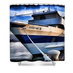 Shower Curtain featuring the photograph Goodtime IIi - Cleveland Ohio by Mark Madere