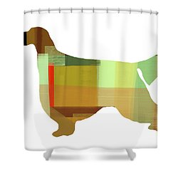 Gordon Setter Shower Curtain by Naxart Studio