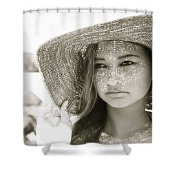Gorgeous Young Woman Shower Curtain by Kicka Witte