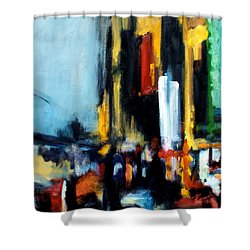 Gotham 3 Shower Curtain
