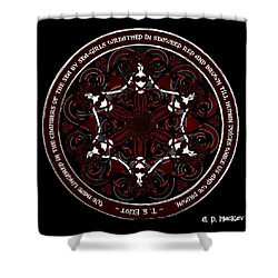 Gothic Celtic Mermaids Shower Curtain