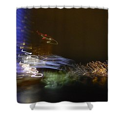 G.r. Grand River Dazzling Lights Shower Curtain