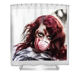 Shower Curtain featuring the photograph Grab And Destroy by Stwayne Keubrick