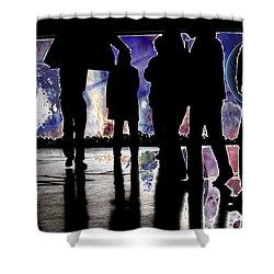 Grab Your Coats Gentlemen... Shower Curtain by J D Owen