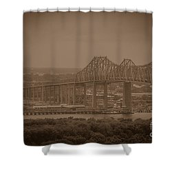 Grace And Pearman Bridges Shower Curtain