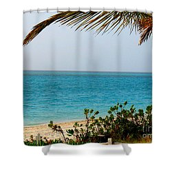 Grace Bay Shower Curtain