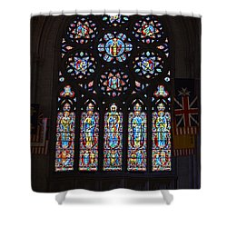 Grace Cathedral Shower Curtain by Dean Ferreira