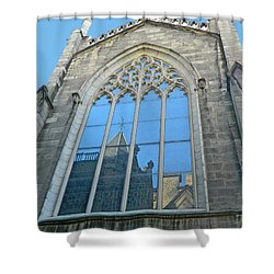 Shower Curtain featuring the photograph Grace Episcopal Church Nyc by Emmy Marie Vickers