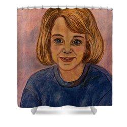 Grace Mahin Shower Curtain by Kendall Kessler