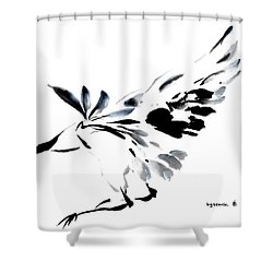Grace Of Fortune Shower Curtain by Bill Searle