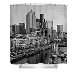 Gracefully Urban Shower Curtain