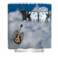 Graceland Shower Curtain by Bill Cannon