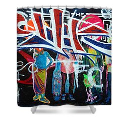 Graffiti Art Shower Curtain