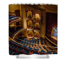 Grand 1894 Opera House - Galveston Shower Curtain