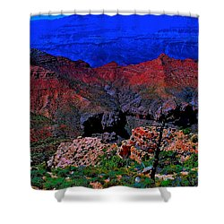Grand Canyon Beauty Exposed Shower Curtain