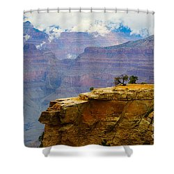 Grand Canyon Clearing Storm Shower Curtain