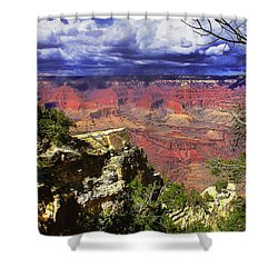 Grand Canyon Shower Curtain by Craig T Burgwardt
