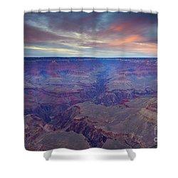 Grand Canyon Dusk Shower Curtain by Mike  Dawson