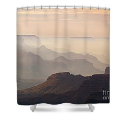 Grand Canyon From Lipan Point Shower Curtain by Alex Cassels