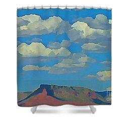 Grand Canyon Horizon Shower Curtain by John Malone