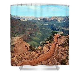Grand Canyon National Park South Kaibab Trail Shower Curtain