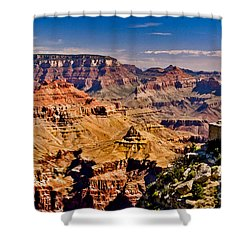 Grand Canyon Painting Shower Curtain