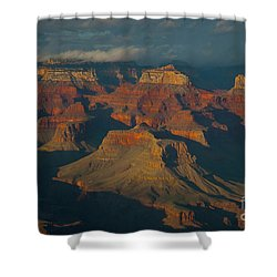 Shower Curtain featuring the photograph Grand Canyon by Rod Wiens