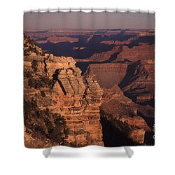 Shower Curtain featuring the photograph Grand Canyon Sunrise by Liz Leyden
