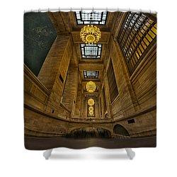 Grand Central Corridor Shower Curtain by Susan Candelario