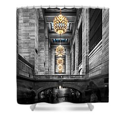 Grand Central Station IIi Ck Shower Curtain by Hannes Cmarits