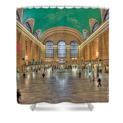 Grand Central Terminal IIi Shower Curtain by Clarence Holmes