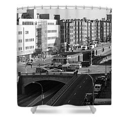 Grand Concourse Bronx Shower Curtain