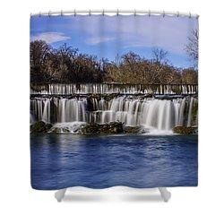 Grand Falls In Joplin Missouri Shower Curtain