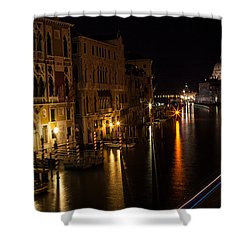 Shower Curtain featuring the photograph Grand Finale by Alex Lapidus