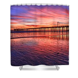 Grand Finale Shower Curtain