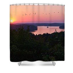 Grand Finale Shower Curtain